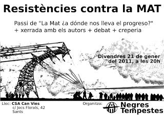 """Jornada sobre """"Resistències a la MAT"""""""