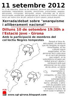 [Girona] Xerrada/Debat sobre Anarquisme i Alliberament nacional