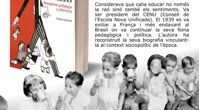 """Presentació """"Joan Puig Elías: Anarquismo, pedagogía y coherencia"""""""