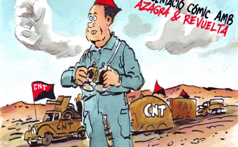"""Presentació de """"Pepe Buenaventura Durruti"""" amb Azagra i Revuelta"""